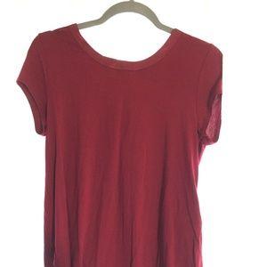 Alfani Red Simple Shirt